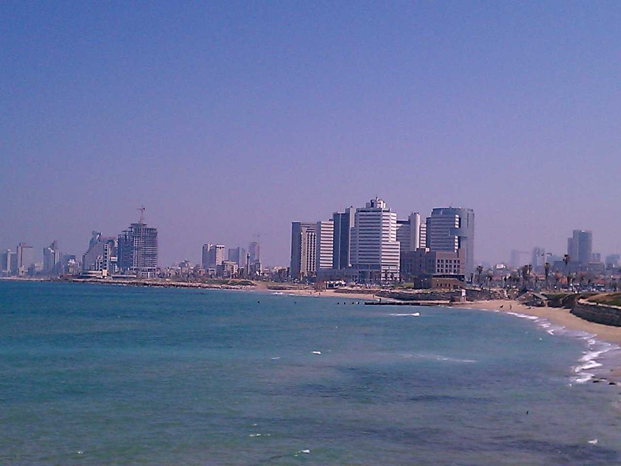 Tev Aviv. view from Jaffa