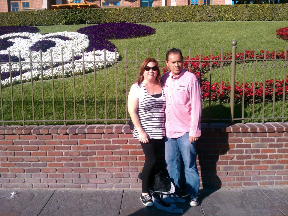 Joshua and Maggie at Disneyland in 2012