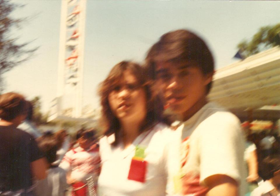 Joshua and Maggie at Disneyland in 1982