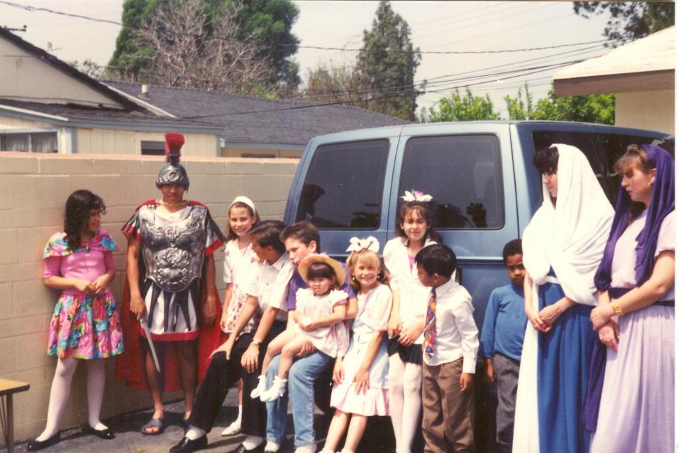 Bethel Church Sunday School Kids 1991