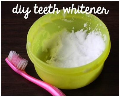 diy teeth whitener
